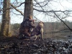 One of my all-time favorites of me and Sage on a hunt!
